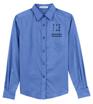 Port Authority® Ladies Long Sleeve Easy Care Shirt with Exploring Logo