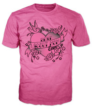 Best Scout Mom Ever Heart & Sparrow T-Shirt (SP7052)