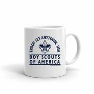 Boy Scout Troop Mug SP4841
