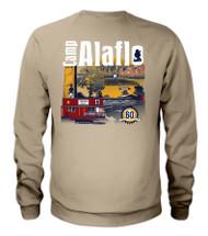 Tan Camp Alaflo 60th Anniversary 2018 Sweatshirt