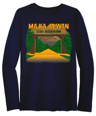 Wicking Long Sleeve Tee - Ma-Ka-Ja-Wan Scout Reservation 2018