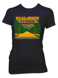 100% Cotton Ladies Short Sleeve Tee Ma-Ka-Ja-Wan Scout Reservation 2018
