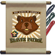 Wood Badge Beaver Patrol Mini Flag (SP5144)