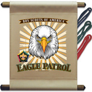 Wood Badge Eagle Patrol Mini Flag (SP5143)
