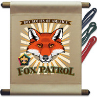 Wood Badge Fox Patrol Mini Flag (SP5139)