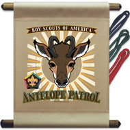 Wood Badge Antelope Patrol Mini Flag (SP5137)