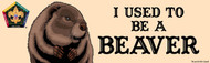 Wood Badge Beaver Bumper Sticker - Realistic (SP5060)