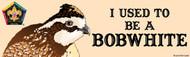 Wood Badge Bobwhite Bumper Sticker - Realistic (SP5061)