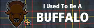 Wood Badge Buffalo Tartan Bumper Sticker (SP5053)