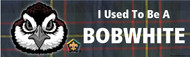 Wood Badge Bobwhite Tartan Bumper Sticker (SP5052)