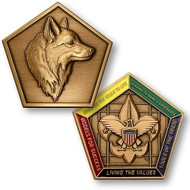 Wood Badge® Fox Medallion