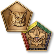 Wood Badge® Owl Medallion