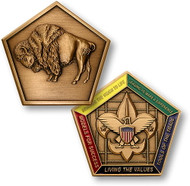 Wood Badge® Buffalo Medallion