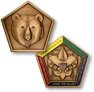 Wood Badge® Bear Medallion
