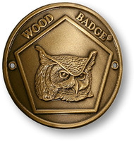 Wood Badge® Owl Hiking Stick Medallion