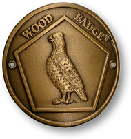 Wood Badge® Bobwhite Hiking Stick Medallion