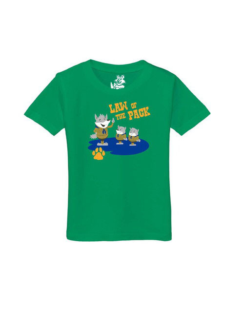 Cub scout akela law of the pack toddler t-shirt