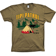 Custom Tipi Patrol T-Shirt (SP4917)