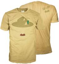B-P Mustache T-Shirt (SP 4713-F/4714-B)