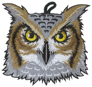 Owl Head Critter Patch