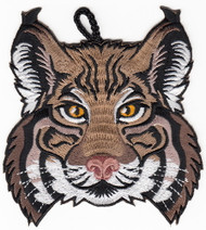 Bobcat Head Critter Patch
