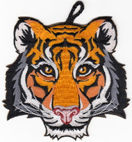 Tiger Head Critter Patch