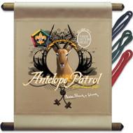 Custom Wood Badge Antelope Patrol Mini Flag (SP3249)