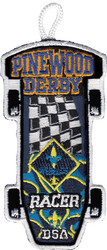 Webelos Racer Patch