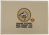 Custom Shark Patrol Patch Flag (SP3227)