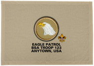 Custom Eagle Patrol Patch Flag (SP3205)