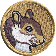 Official Licensed Squirrel Patrol Patch