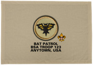 Custom Bat Patrol Patch Flag (SP3197)