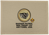 Custom Badger Patrol Patch Flag (SP3196)