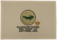 Custom Alligator Patrol Patch Flag (SP3194)