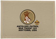 Custom Antelope Patrol Patch Flag (SP3195)