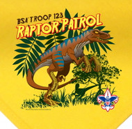 Custom Raptor Patrol Neckerchief