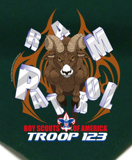 Custom Ram Patrol Neckerchief (SP2805)
