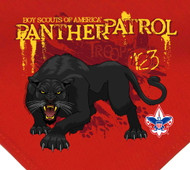 Custom Panther Patrol Neckerchief (SP2948)