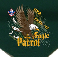 Custom Eagle Patrol Neckerchief (SP2777)