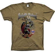 Custom Knight with Sword Patrol T-Shirt (SP2718)