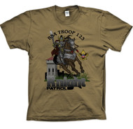 Custom Knight On Horse Patrol T-Shirt (SP2720)
