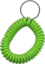 Wrist Coils - Solid Lime Green