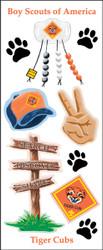 Tiger Cub Elements 11 Sticker Sheet