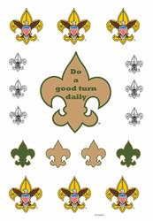 Boy Scout Emblem - Do a Good Turn Daily