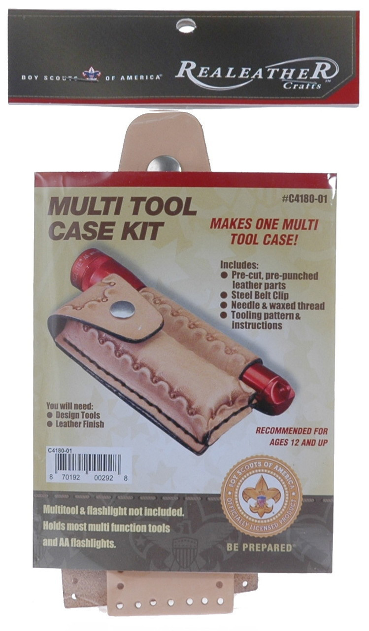 Multi Tool Leather Case Kit