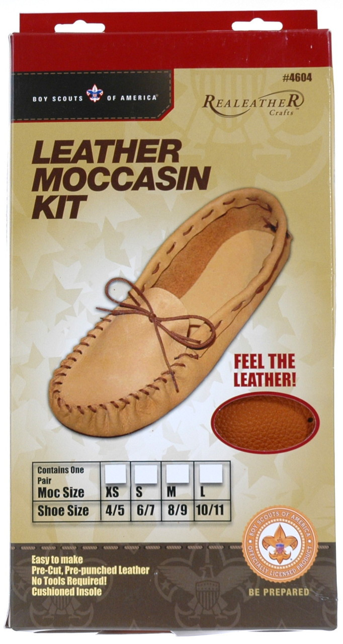 Leather Moccasin Leather Kit