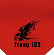 Custom Boy Scout Troop Neckerchief with The Eagle (SP2109)