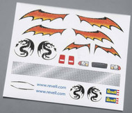 Pinewood Derby Dry Transfer Decal F