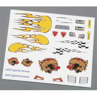 Pinewood Derby Peel and Stick Decal B
