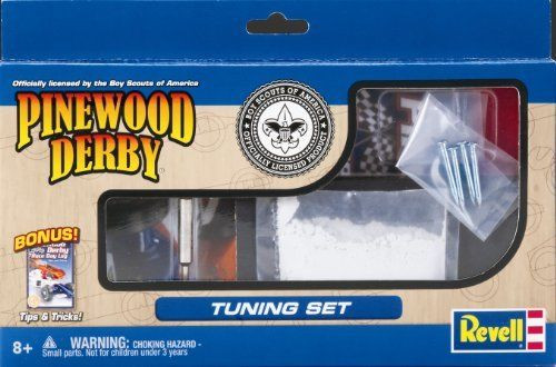 Pinewood Derby Tool Kits for Derby Cars
